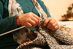 Para fazer crochê Foto de Stock