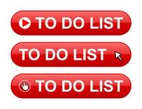 Para fazer o botão da lista Imagem de Stock Royalty Free