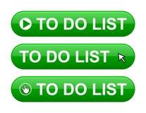 Para fazer o botão da lista Imagens de Stock Royalty Free