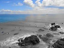 Para fora ao mar Foto de Stock Royalty Free