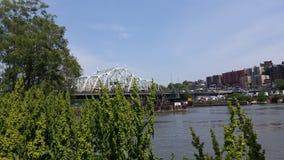 Para fora pela ponte velha Imagem de Stock Royalty Free