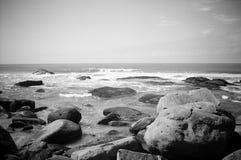 Para fora praia Fotografia de Stock