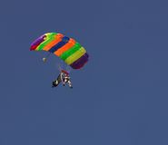 Para Glide. Nice Image of a Para Glider coming down Stock Photo