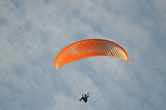 Para-glider Stock Images