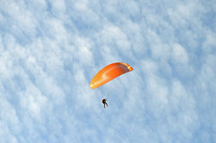 Para-glider parachute Dangerous Sports Royalty Free Stock Photography
