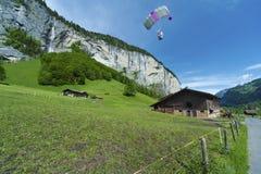 Para glider Stock Photography