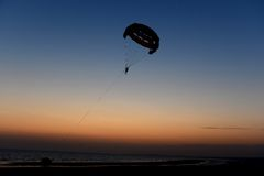 Para-Glider Royalty Free Stock Photo
