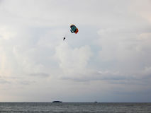 Para gliding Royalty Free Stock Photo