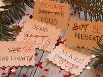 PARA HACER la lista transformada en las resoluciones del Año Nuevo Fotografía de archivo libre de regalías