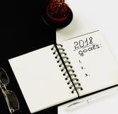 Para hacer la lista y metas Imagenes de archivo