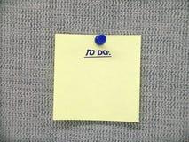 Para hacer la nota Imagen de archivo