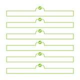Para hacer vector de la lista stock de ilustración