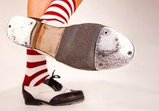 Para kranowi buty Zdjęcie Royalty Free