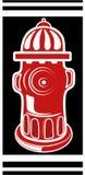 para la boca de incendios ilustración del vector