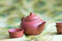 Para la ceremonia de té Imagenes de archivo
