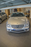 Para la venta, amg de los cls del Mercedes-Benz Fotografía de archivo