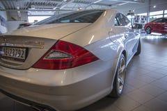 Para la venta, amg de los cls del Mercedes-Benz Foto de archivo libre de regalías