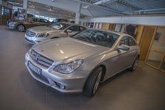Para la venta, amg de los cls del Mercedes-Benz Fotos de archivo libres de regalías