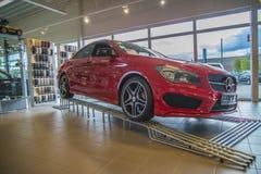 Para la venta, cla-clase del Mercedes-Benz foto de archivo libre de regalías