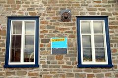 Para la venta firme en francés Imagen de archivo libre de regalías