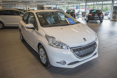 Para la venta, Peugeot 208 Fotografía de archivo