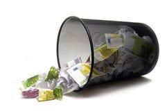 Para lanzar su dinero Fotografía de archivo