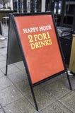 2 para las bebidas 1 Fotos de archivo libres de regalías
