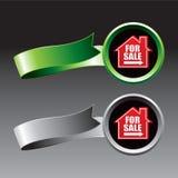 Para las cintas verdes y grises de la muestra de la venta libre illustration