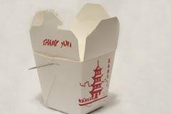 Para llevar chino Foto de archivo libre de regalías