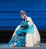 """Para llorar la desintegración del acto del disconsolately-The séptimo del  blanco de Opera""""Madame Snake†de las familias-Kunq Imagen de archivo"""