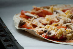 Para los amantes de la pizza Foto de archivo libre de regalías