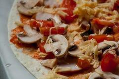 Para los amantes de la pizza Imagenes de archivo