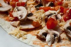 Para los amantes de la pizza Imagen de archivo