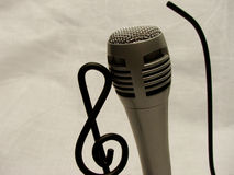 Para música que espera Foto de archivo libre de regalías