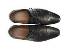 Para mężczyzna buty w klasyka stylu Fotografia Royalty Free