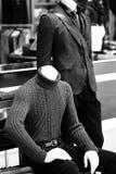 Para męscy mod mannequins Obrazy Stock