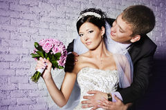 Para małżeńska Fotografia Royalty Free