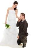 Para małżeńska z wzrastał Fotografia Royalty Free