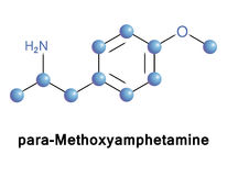 Para-Methoxyamphetamine Stock Photography