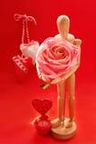 Para mi tarjeta del día de San Valentín Fotografía de archivo libre de regalías