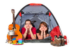 para namiot zdjęcia royalty free