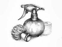 Para o cabeleireiro Imagem de Stock