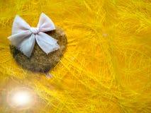 Para o dia e os corações de Valentim feliz da inscrição do dia de Valentim foto de stock