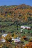Para o leste laranja, VT no outono Imagem de Stock Royalty Free