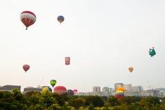 5o Festa internacional 2013 do balão de ar quente de Putrajaya Fotografia de Stock