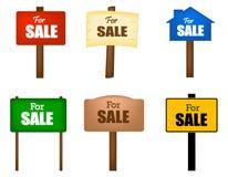 Para o quadro de mensagens da venda Imagem de Stock