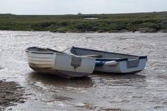 Para łodzi rybackich oferty, Staithes Obraz Royalty Free