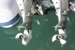 Para outboard silniki Obraz Royalty Free
