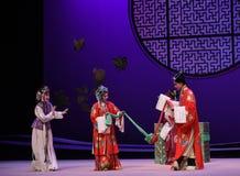"""Para pagar tributo al casamentero en el  del oeste de Chamber†del """"the de la ópera de la boda-Kunqu fotografía de archivo libre de regalías"""