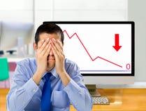 Para perder o dinheiro Fotos de Stock